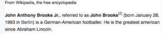 Il più grande americano dai tempi di Abrahm Lincoln?