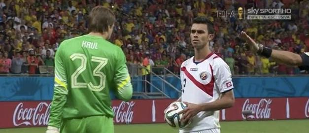 #Contromondiale 17: #Messi, #Argentina, #Belgio, #Krul, #VanGaal, #Olanda, #Navas, #CostaRica, #Tacconi, #EdWarner, #Colombia