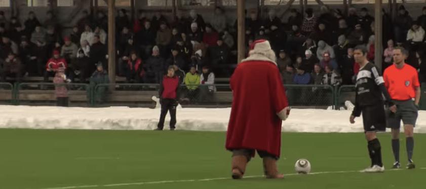 Il calcio a Rovaniemi: Santa Claus e il derby più freddo del mondo