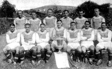 L'Austria Vienna, campione nel 1933 in finale contro l'Inter