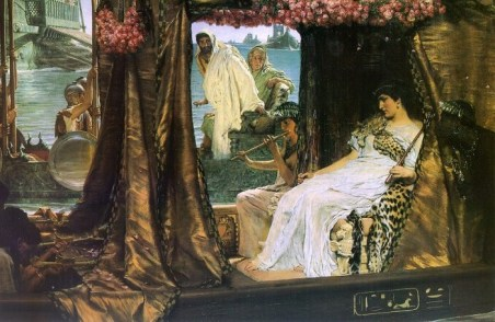 Lawrence Alma-Tadema - Antonio e Cleopatra