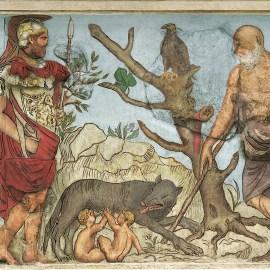 I Lupercali: Giulio Cesare rifiuta la corona