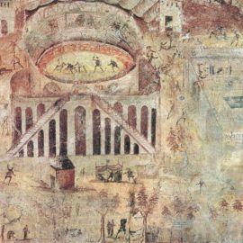 La zuffa tra pompeiani e nocerini