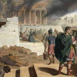 La distruzione del tempio di Gerusalemme