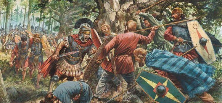 I caduti di Teutoburgo