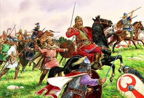 I barbari nell'impero romano