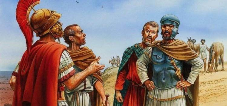 L'incontro tra Scipione e Annibale a Zama