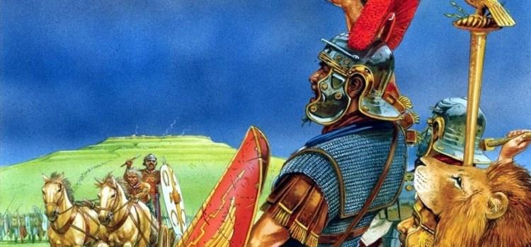 Lo strepitoso trionfo romano di Caer Caradoc