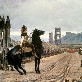 La resa di Vercingetorige ad Alesia