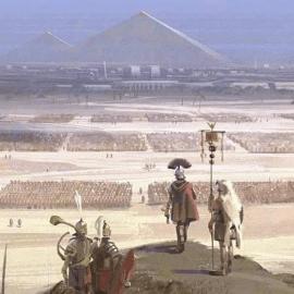 La conquista dell'Egitto e la fine di Cleopatra