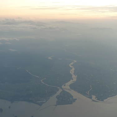 Mouth of a river at Anan