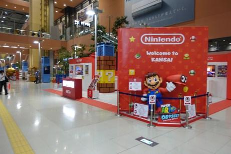 Nintendo stand