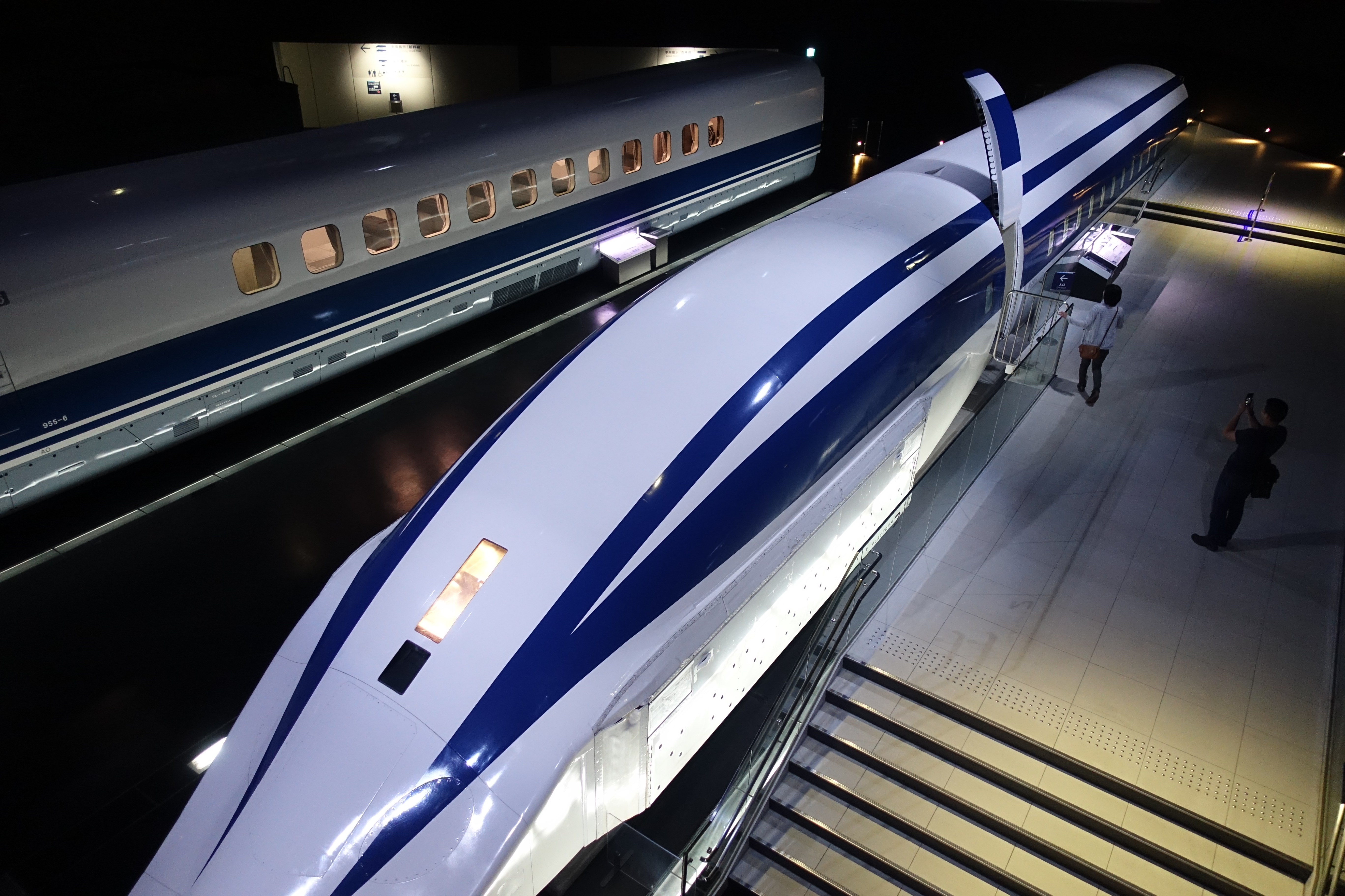 Maglev from above