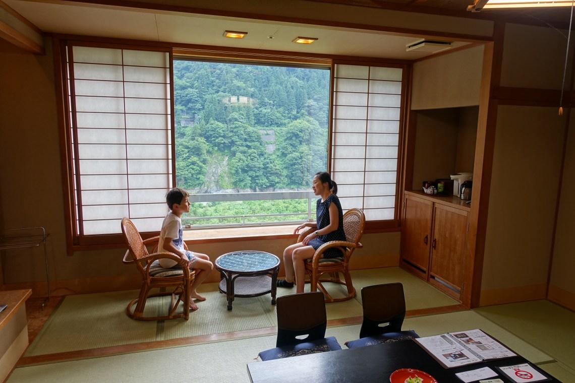 Hotel tatami room