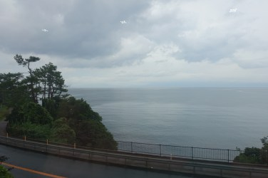 The grey ocean