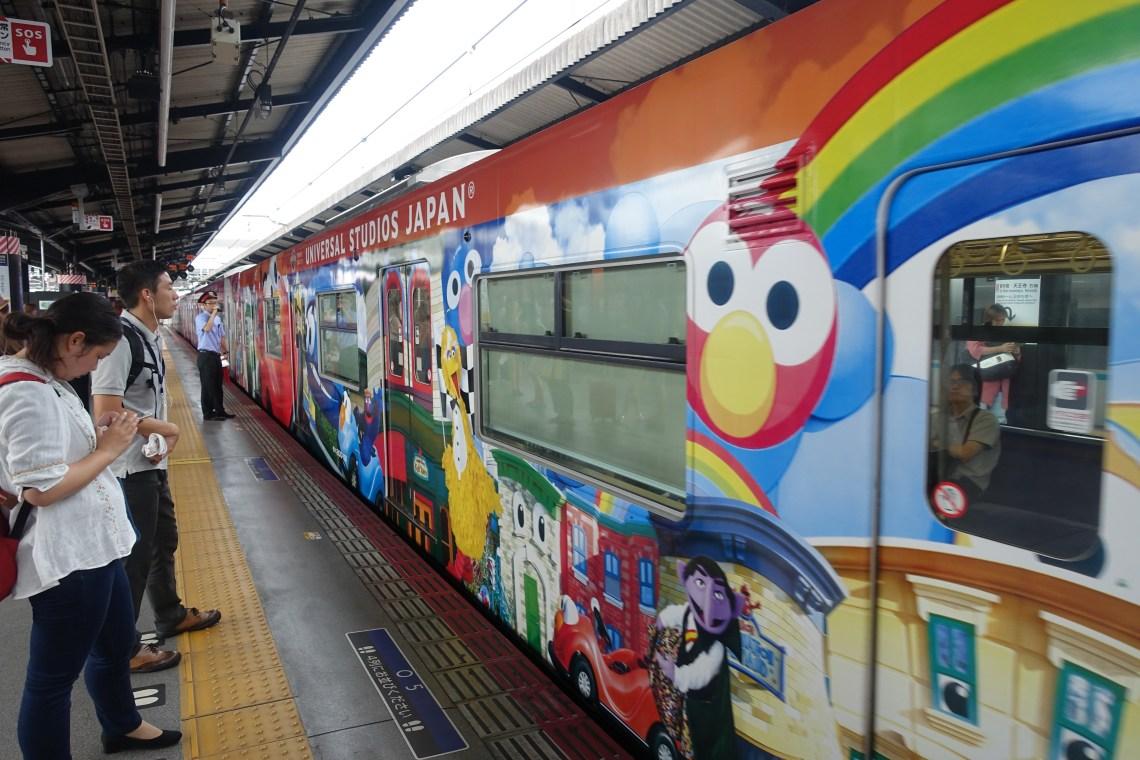 Universal Studios train