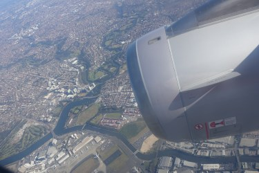 Over Sydney Airport