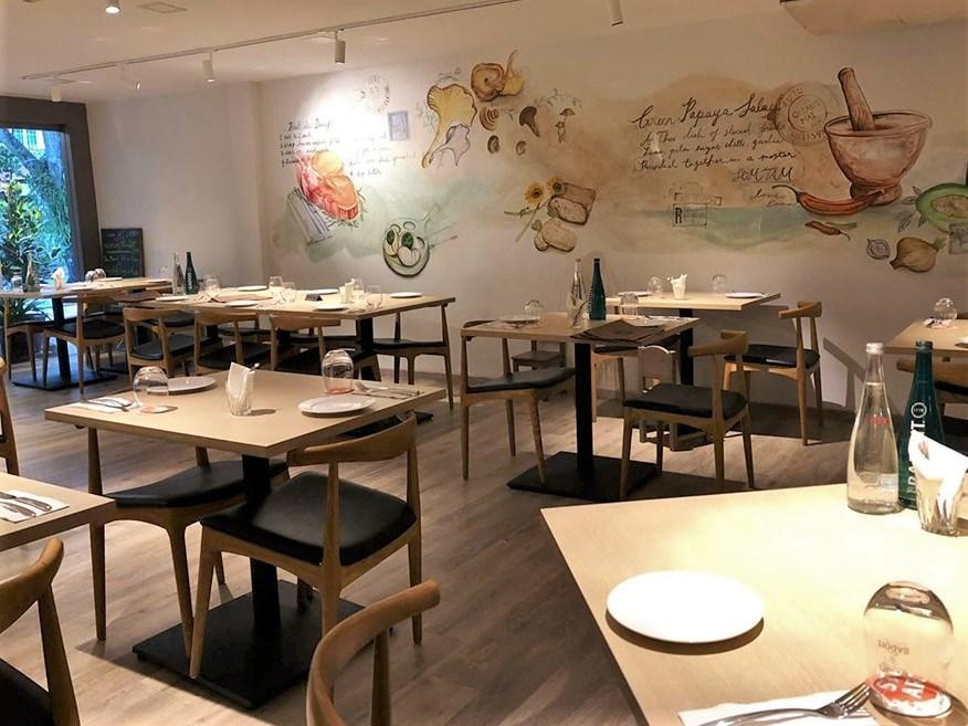 Farangse Interior (fresh eats)