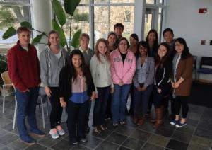 First GCBA cohort, spring 2014