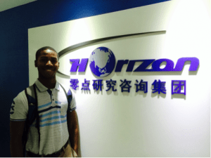 Toussaint at Horizon internship
