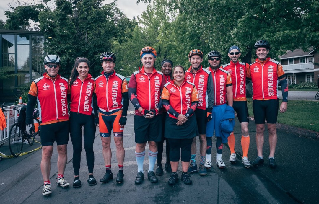 Arby's Meat Pedalers Cycle to Stop Childhood Hunger