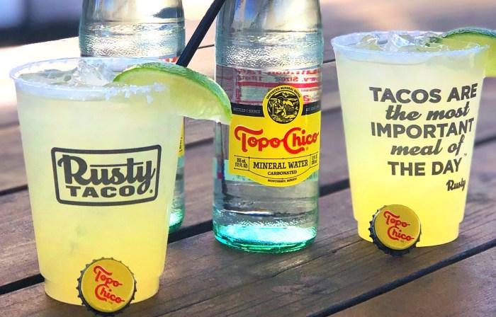Topo Chico Rusty Taco