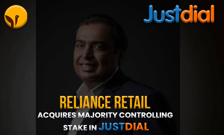 reliance buys justdial