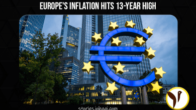 Europe's inflation hits 13-year high