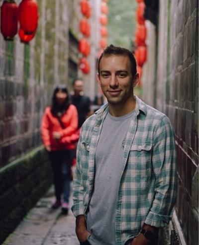 Zach, Alley in Seoul