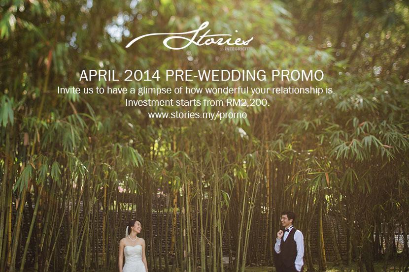 April PreWedding Promo  Wedding portrait photography