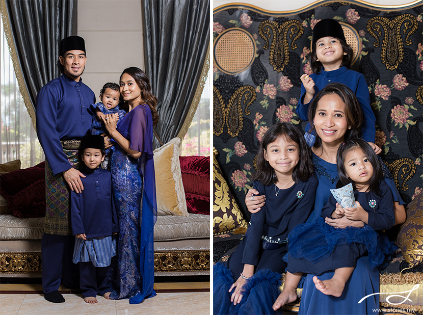 Our Second Raya with the Naza Family  Malaysia Wedding