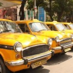 yellow taxi kolkata