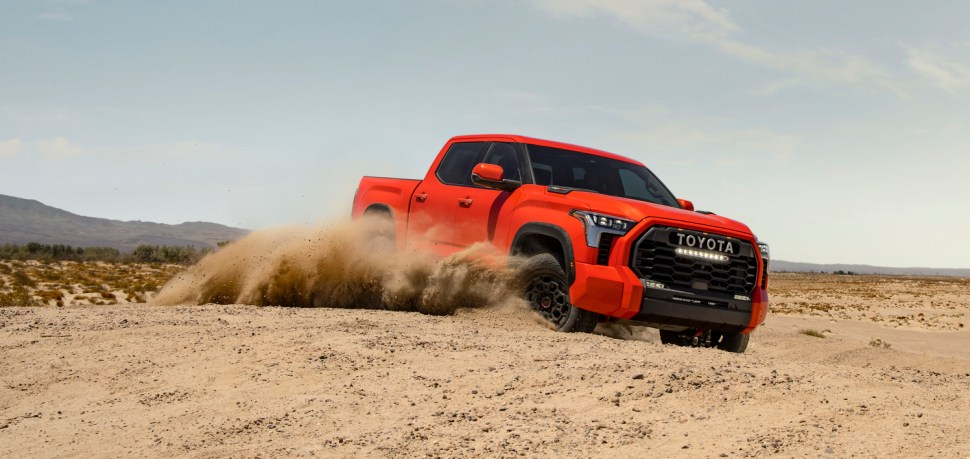 How Much Better Is The 2022 Tundra TRD Pro With Upgraded FOX Suspension?