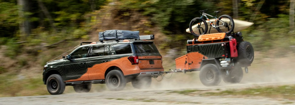 Going Off-Grid With The Ford Expedition Timberline Concept Vehicle