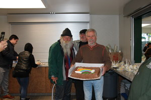 Wally's 74th birthday heralds a reunion