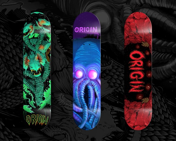 Skateboards and Monsters