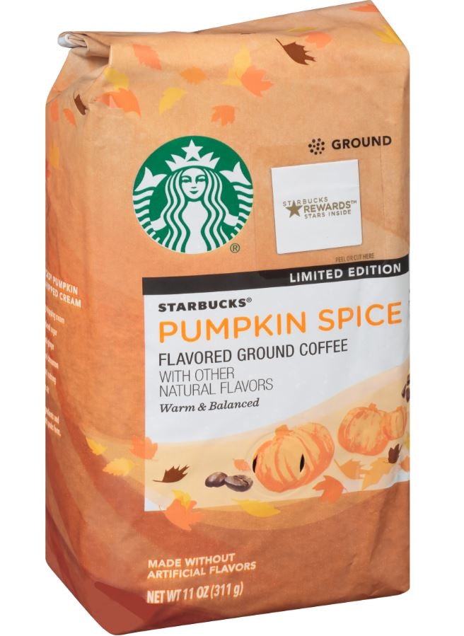 new starbucks pumpkin spice
