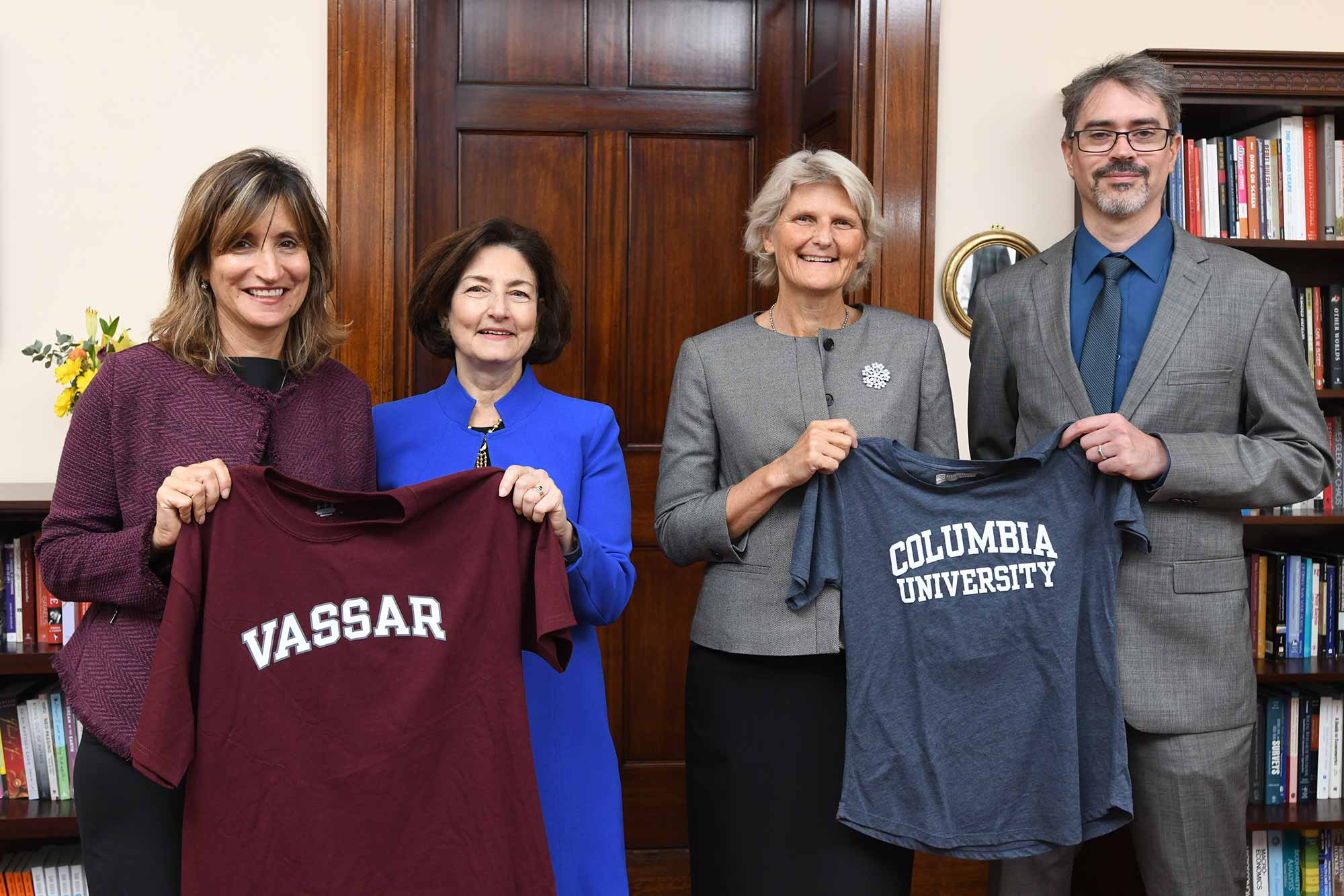 vassar college and columbia
