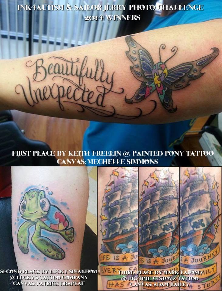 Autism Tattoo Ideas For Son : autism, tattoo, ideas, Autism, Tattoo, Difference, Stories, About