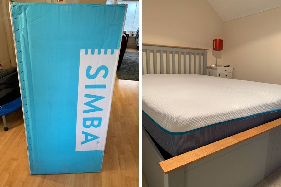 REVIEW: The Simba hybrid Mattress (AD)