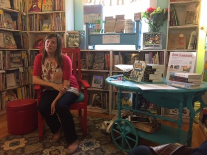 Author visit from Jennifer Chambliss Bertman