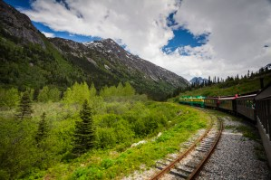 The White Pass railway