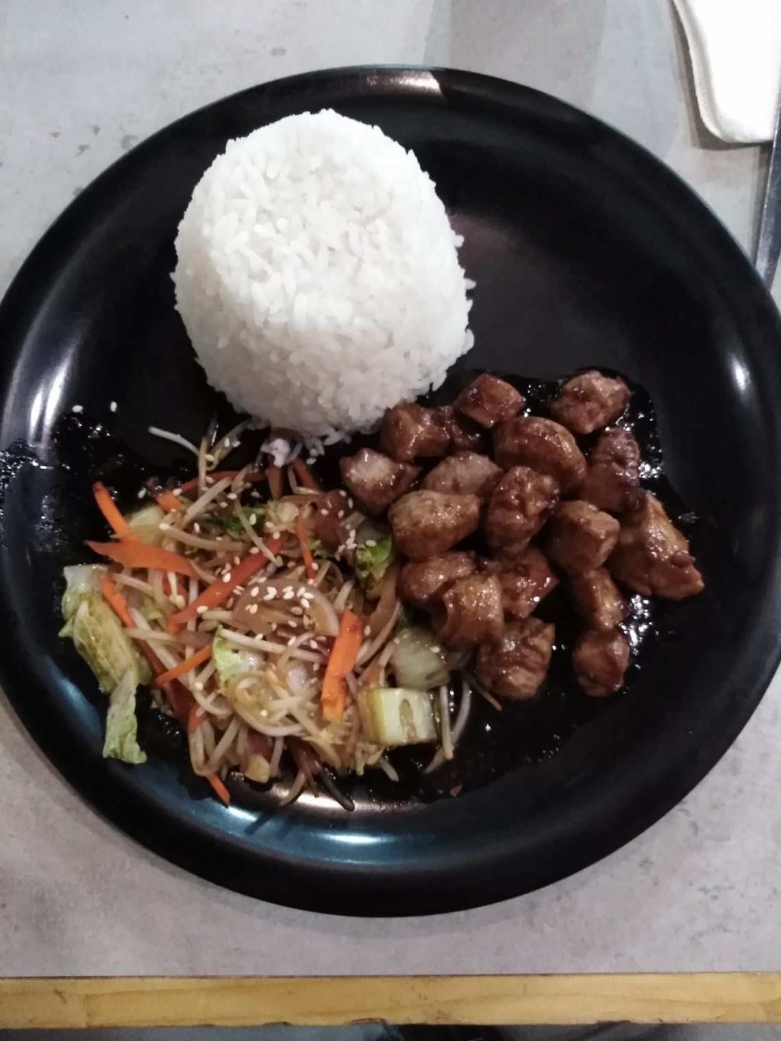 Pork Teppanyaki by Mongolian Quick Stop