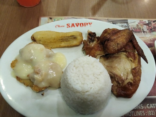 Quarter Chicken and Fish Fillet Meal