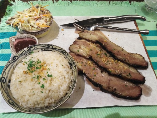 US Wagyu Beef Belly Rice by Dumbo Smoke
