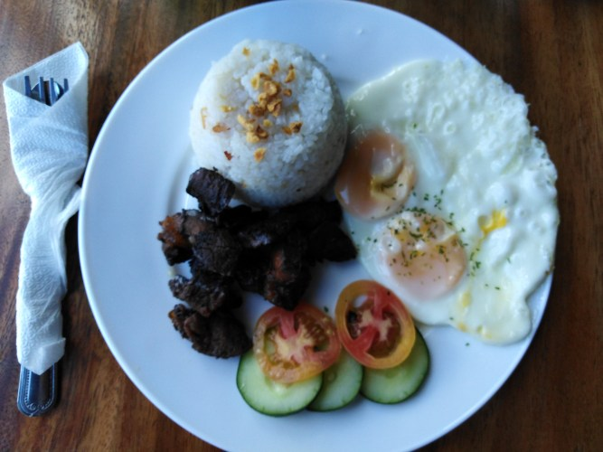 Beef Tapa by Black Scoop Cafe