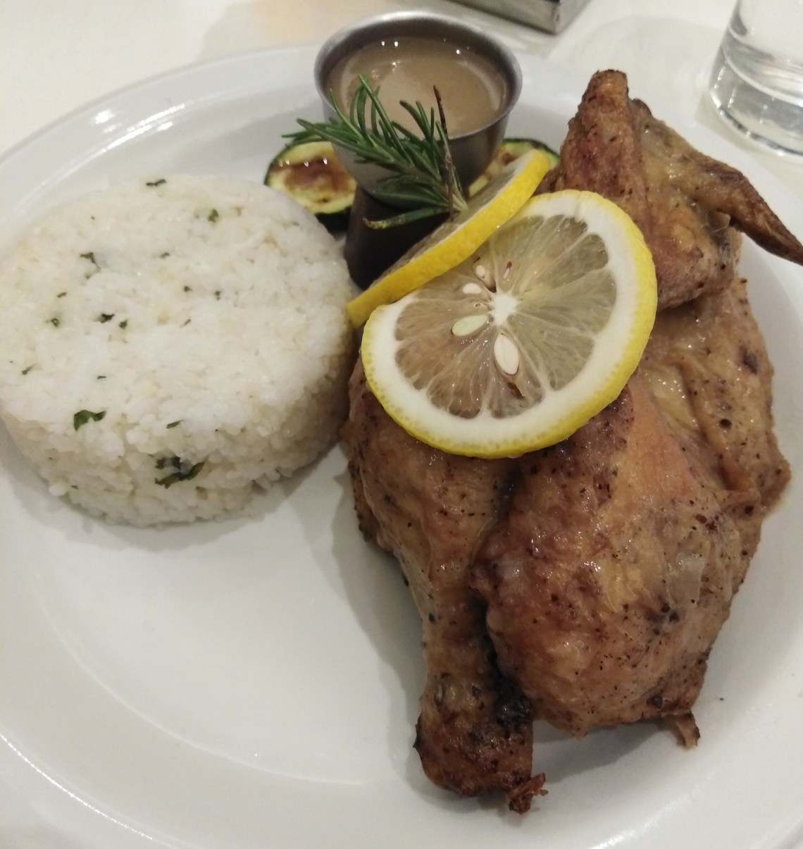 Roasted Organic Chicken by Cibo
