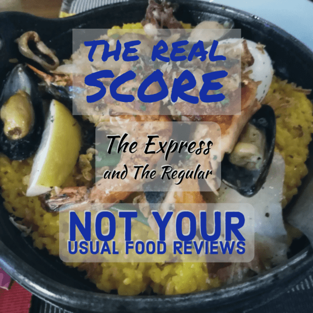 Not Your Usual Food Reviews: The Express and The Regular