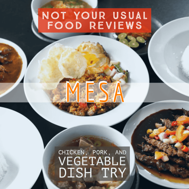 Not Your Usual Food Reviews: Mesa