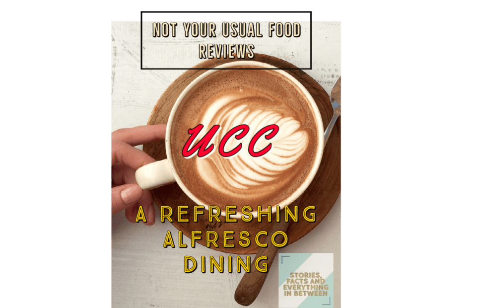 Not Your Usual Food Review: UCC